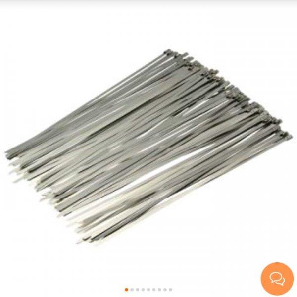 [Banggood] 100 Edelstahl Kabelbinder für 6,29€