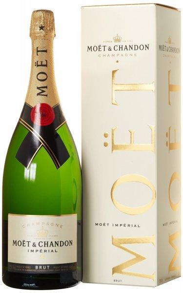 [AMAZON PRIME] Champagner - Moët & Chandon Impérial Magnum in Geschenkverpackung (1 x 1.5 l) für 67,99