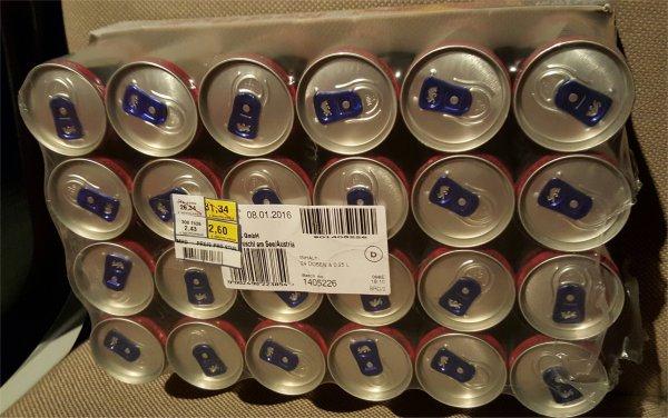 [LOKAL] Metro Siegen - 24er Tray Red Bull Zero+Sugarfree für 2,60€ (zzgl. Pfand) Dosenpreis 11 Cent!