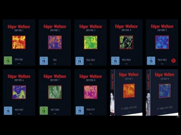 (Preisfehler) Edgar Wallace Complete Collection [41 DVD] für 1,99€ @Mediamarkt