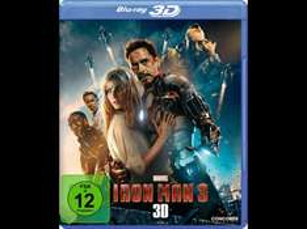 Iron Man 3 (3D/2D) (Lenticular-Cover) - (Blu-ray 3D) für 7,99 € / The Amazing Spider-Man , The Amazing Spider-Man 2: Rise of Electro (3D + 2D) - (3D BD&2D BD, Blu-Ray) für 9,99 € @ Saturn.de