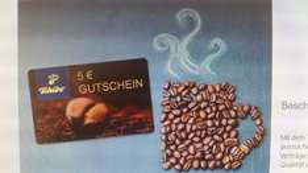 DeutschlandCard 5 € Tchibo Gutschein für 400 Punkte = 4 € - Auch weniger, dann mit Zuzahlung