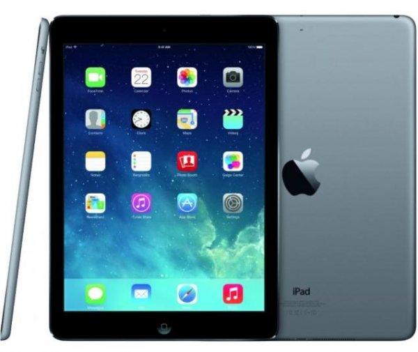 Apple iPad Air 16GB WiFi space grau @Rakuten 339€ inkl 50,85€ Superpunkte