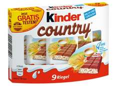 kinder Country gratis testen