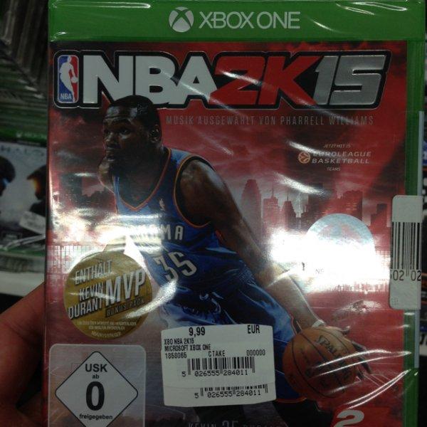 [lokal] NBA 2k15 XBONE MediaMarkt Köln Arcarden