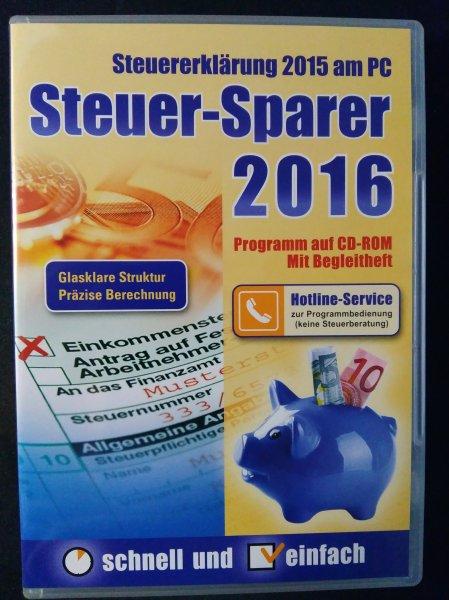 [Offline] Steuer-Sparer 2016 Postbank für Postbankkunden 2,99€