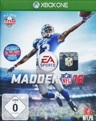 Madden NFL 16 für Xbox One 29,99€ bei JPC