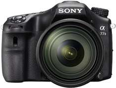 Sony Alpha 77 IIQ - Sehr Gute SLR-Digitalkamera - AMAZON BLITZANGEBOT