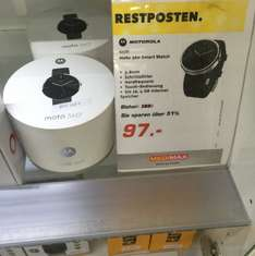 Motorola Moto 360 Smart Watch für 97€