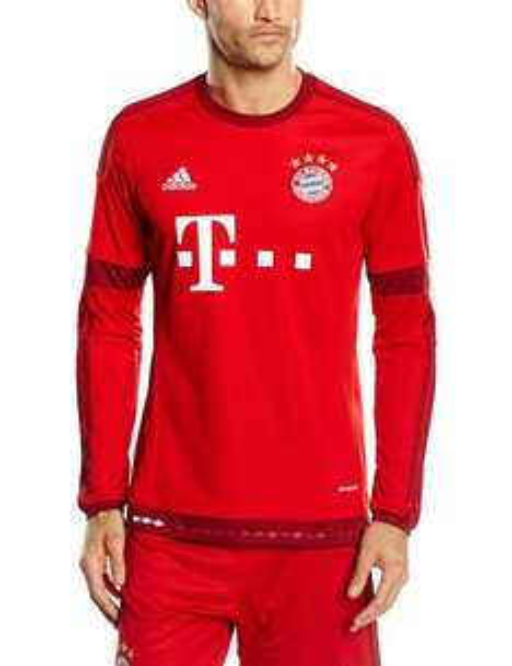 [Amazon Prime] FC Bayern Heimtrikot Langarm 2015/16