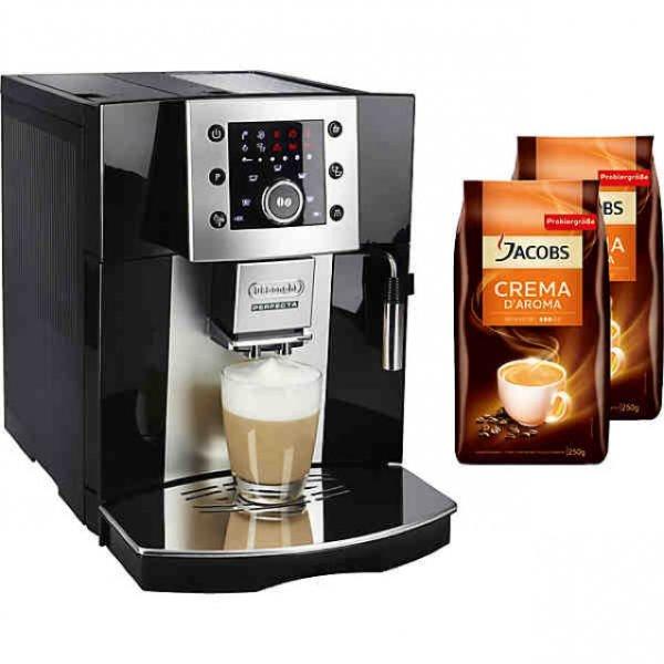 De´Longhi Kaffeevollautomat Perfecta ESAM 5400 + Gratis 2 Pakete JACOBS Kaffeebohnen