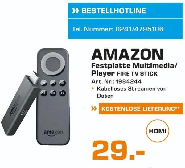 (Lokal) Amazon Fire TV Stick für 29€ @ Saturn Aachen