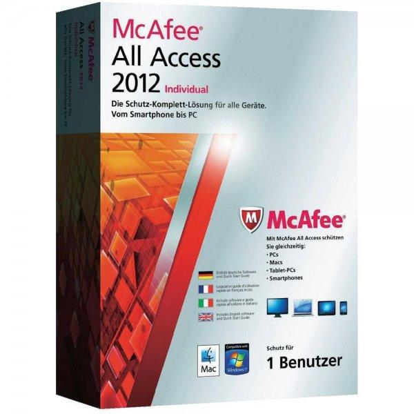 McAfee All Access 2012 für 5 € (Upgradefähig auf neueste Version)