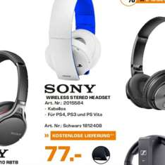 [Lokal] Saturn Hamburg: PS4 Wireless Headset 2.0