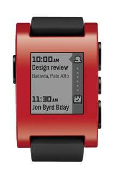 Pebble Smartwatch rot oder weiß für jeweils 72,85 € @ Amazon UK (Update: rot jetzt 70,13 €!)