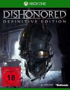 Dishonored (Definitive Edition) für Xbox One / PS4 jeweils 15 € @ Saturn Latenight Shopping