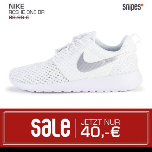 [lokal Stuttgart] SNIPES Nike Roshe One all white