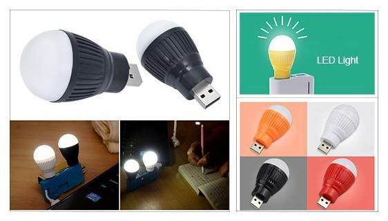 Gratis Mini USB Glühbirne bei Zapals