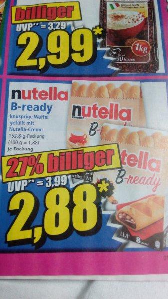 Nutella B- ready für echte Mydealzer