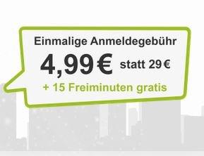 (wieder verfügbar) DriveNow Registrierung für 4,99€ statt 29€ inkl. 15 Freiminuten (qipu möglich, dann effektiv 49 Cent!)
