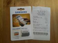 32 GB Micro SD Card Samsung Evo
