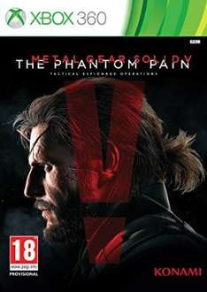 [amazon.co.uk] Metal Gear Solid V: The Phantom Pain - Standard Edition (Xbox 360) für 21,18€ inkl. Versand
