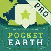 [iOS] Pocket Earth PRO für 0 EUR statt 4,99 EUR (Offline-Maps, Navigation, Reiseführer)