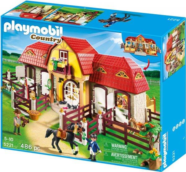 Playmobil 5221 Großer Reiterhof mit Paddocks Galeria Kaufhof 50,39€ abzgl. qipu/payback