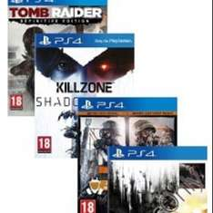 5 Spiele Pack PS4 (Gamesonly.at)