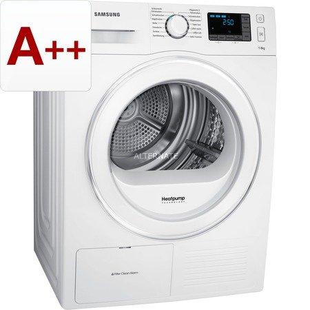 """Samsung Wäschetrockner (Wärmepumpen-Kondensationstrockner) """"DV80F5E5HGW/EG"""" A++ für 499 € inkl. Versand, @ZackZack"""