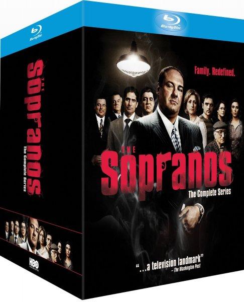 Die Sopranos - Die Komplette Serie [Blu-ray] @ amazon.fr für 46,16 EUR