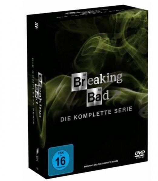 Breaking Bad - Die komplette Serie (21 Discs) DVDs für 53,67€ auf buecher.de