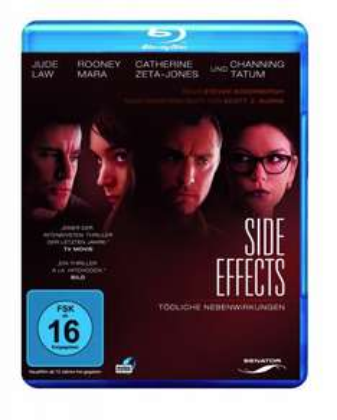 Blu-ray: Side Effects - Tödliche Nebenwirkungen, neu, 5,13€ von Medimops @amazon
