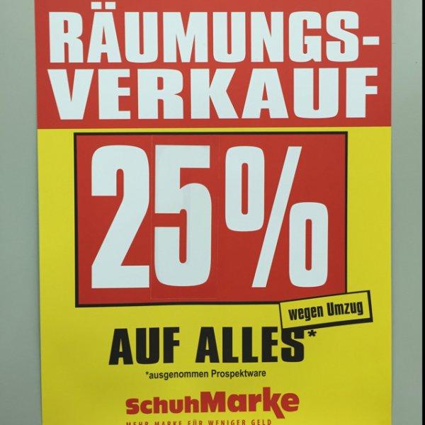 (LOKAL Saarland) Schuhmarke Bous  Räumungsverkauf 25% auf alles