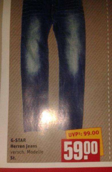 Orig. G-Star Herren Jeans im Rewe Center für 59,- EUR!!!