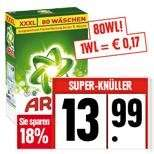 [Edeka] Ariel Waschmittel Pulver oder flüssig, 86WL - 0,17€/WL
