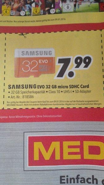 MEDIMAX: Samsung EVO 32 GB micro SDHC Card