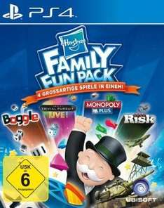 Hasbro Family Fun Pack - 4 Spiele in 1 (Monopoly, Risiko ...) im PS-Store (10 EUR gespart)