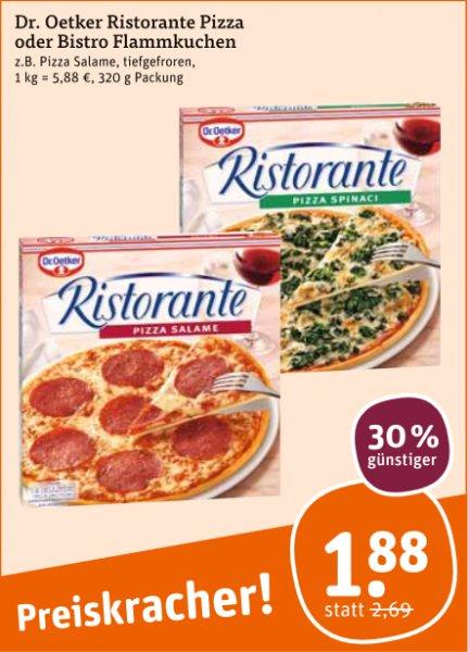 Dr.Oetker Ristorante Pizza bei tegut für 1,38€