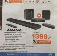 [Lokal Saturn Aachen] Bose Soundtouch 130 + Bose Soundlink Colour