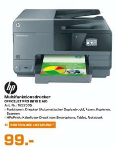 (Lokal)Hewlett-Packard HP Officejet Pro 8610 e-All-in-One für 99€ @ Saturn Bielefeld