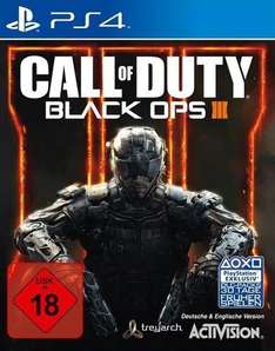Black ops 3 für PS4, 44.99 zggl. versand - Amazon.de