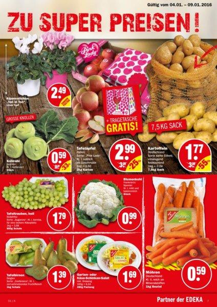 NP-Markt: 1 kg Karotten/Möhren 0,59 €