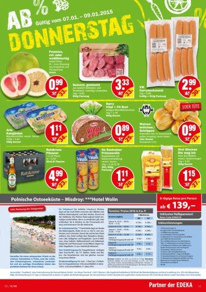 NP-Markt: Kiste Ratskrone Bier 20x0,5 liter für 4,99€