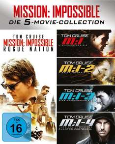 Mission Impossible 1-5 Box (Blu-ray), AMAZON.de, 29,99 Euro inkl. Versand