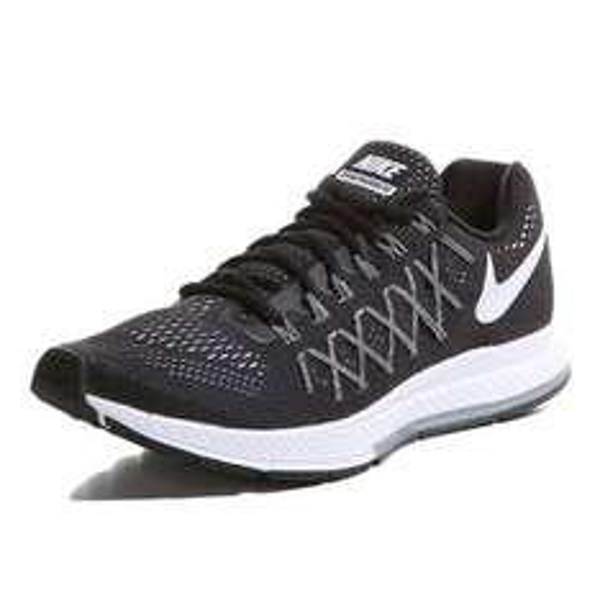 Nike | AIR ZOOM PEGASUS 32 Laufschuhe Herren | schwarz-grau-weiß