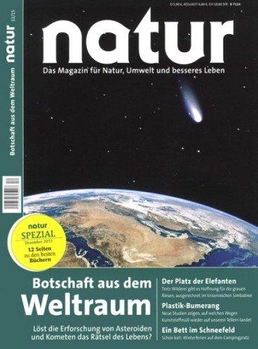 Abomix: Jahresabo (Prämienabo) Magazin Natur  - 10 € Gewinn ( Bargeldprämie)- * Angebot beendet*