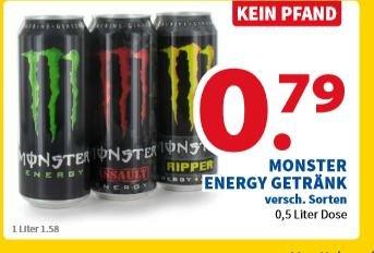[Lokal Venlo] für Grenzgänger Niederlande  Monster Energygetränk