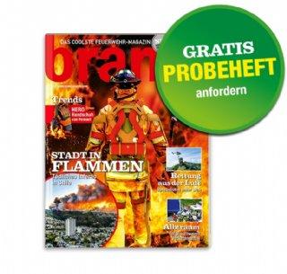 Magazin Brandheiss ( Feuerwehr Magazin)  - GRATIS unverbindliches Probeheft