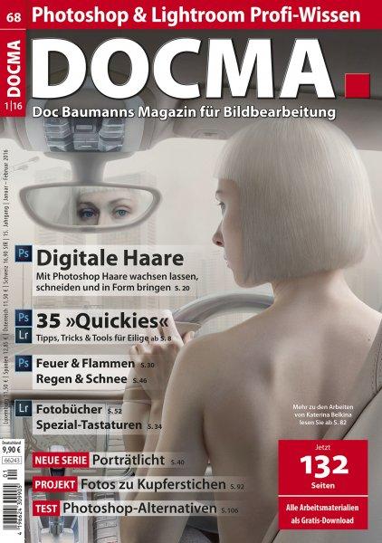 Magazin Docma ( Bildbearbeitungs Magazin) gratis Probeheft ( Kündigung notwendig)